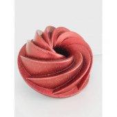 Penguen Granit Kek Kalıbı Rüzgar Gülü 26 Cm Bordo-2
