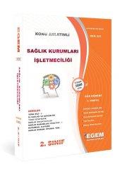 Aöf Sağlık Kurumları İşletmeciliği 2. Sınıf 3. Yarıyıl Güz Dönemi Egem Yayınları