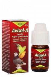 Biyoteknik Avisol A Kuş Vitamin 20 Cc Skt 01...