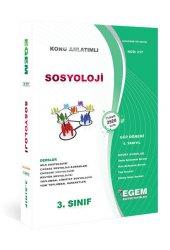 Aöf Sosyoloji 3. Sınıf 5. Yarıyıl Güz Dönemi Egem Yayınları