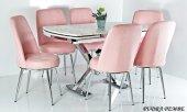 6 Kişilik Mutfak Masası Masa Sandalye Takımı...