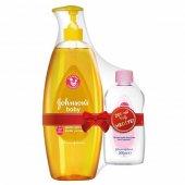 Johnsons Baby Gold Bebek Şampuanı 750 Ml (200 Ml Yağ Hediye)