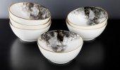Sembol Porselen 6lı Çorba Kasesi