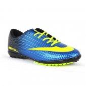 Walked Grs 401 H.s R Mavi Sarı Halı Saha Ayakkabısı