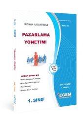 Aöf Pazarlama Yönetimi  1. Sınıf Güz Dönemi Konu Anlatımlı Soru Kitabı Tek EGEM YAYINLARI