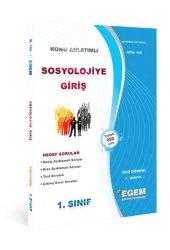 Aöf Sosyolojiye Giriş 1. Sınıf Güz Dönemi Konu Anlatımlı Soru Kitabı Tek Egem Yayınları