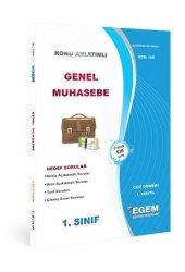 Aöf  Genel Muhasebe  1. Sınıf Güz Dönemi Konu Anlatımlı Soru Kitabı Tek EGEM YAYINLARI