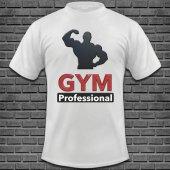 Bodybuilding Baskılı Tişört Tasarımı BODY-002
