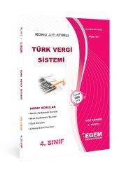 Aöf Türk Vergi Sistemi 4. Sınıf Güz Dönemi Konu Anlatımlı Soru Kitabı Tek Egem Yayınları