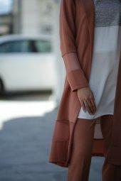 Tesettür Ceketli Takım Elbise - Tarçın-2
