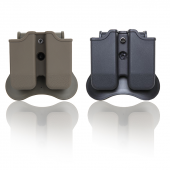 Cytac Glock Modelleri İçin Çiftli Polimer Şarjörlü...