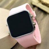 Dijital Bayan Genç Kadın Led Kol Saat Spectrumwatch Silikon Bileklik St 303446