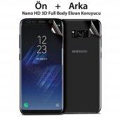 Samsung Galaxy Note 4 - Nano Full Body Ön-Arka Alt-Üst Tam Kaplam