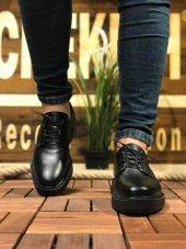 Chekich CH001 Fantasya Siyah Taban Erkek Ayakkabı SİYAH-2
