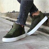 Chekich CH004 BT Erkek Ayakkabı HAKİ-3