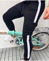 Erkek Yanları Şeritli Kargo Pantolon