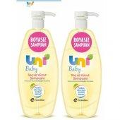 Uni Baby Boyasız Saç Ve Vücut Şampuanı 750 Ml 2 Paket