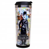 Charlie Chaplin Termos Bardak