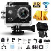 AngelEye KS-503 4K Ultra HD 170 Derece Wifi Aksiyon Kamera UZAKTAN Kumandalı