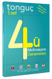 Tonguç Akademi 5. Sınıf 4 Lü Motivasyon Denemeleri