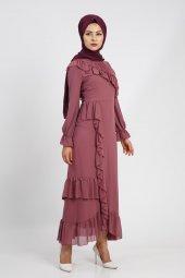 Puane Kadın Rose Elbise 12112