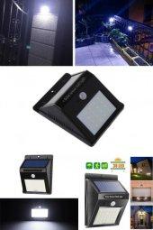 Yeni Nesil Sensörlü Solar Duvar Lambası 20 Ledli-2