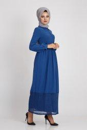Loreen Kadın İndigo Elbise 22096