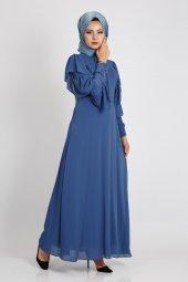 Loreen Kadın İndigo Elbise 22117