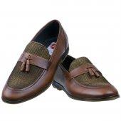 Taba Hasırlı Püsküllü Klasik Erkek Ayakkabı