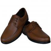 Taba Burnu Dikişli Bağcıklı Diyabetik Erkek Ayakkabı