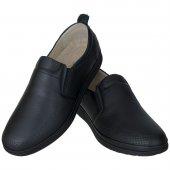 Siyah Lazer Motifli Günlük Erkek Ayakkabı