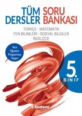 Tudem Yayınları Tüm Dersler 5.sınıf Soru Bankası
