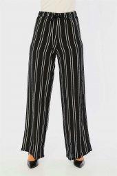 Beli Lastikli Siyah Pantolon-2