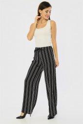 Beli Lastikli Siyah Pantolon-3