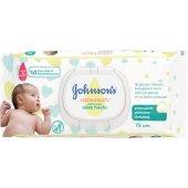 Johnson' S Baby Islak Mendil Cotton Touch Yenidoğan 72' Li