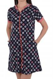 Kadın Tunik Ev Elbisesi Kıs Kol
