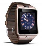 Smart Watch Akıllı Saat Dz09 Sim Kart Girişli Kameralı Ime Kayıtlı Gold