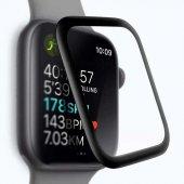 Apple Watch 44 Mm Full Yapışkanlı Kavisli Ekran Koruyucu Cam