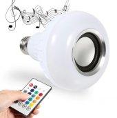 Music Bulb Bluetooth Hoparlör Akıllı Led Ampul...