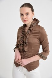 Bayan Vizon Bluz Gömlek 4430 2 232