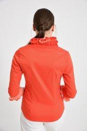 Bayan Kırmızı Bluz Gömlek 4430 3 232