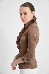 Bayan vizon  bluz gömlek 4430-2-232-2