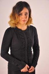 Siyah Bayan Bluz Gömlek 4550 4 .9