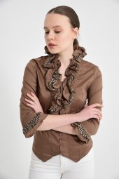 Bayan vizon  bluz gömlek 4430-2-232-4