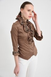 Bayan vizon  bluz gömlek 4430-2-232-5