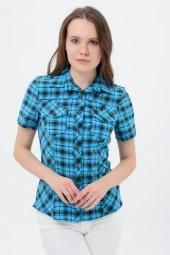 Bayan Mavi Gömlek 4250 2 345