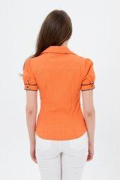 Bayan Oranj Gömlek 4010 2 213