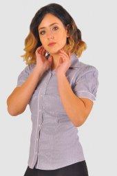 Bayan gri gömlek 4010-2-213 -2