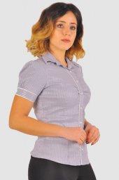 Bayan gri gömlek 4010-2-213 -3