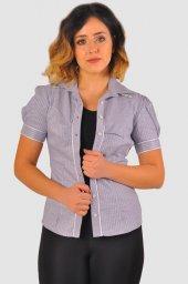 Bayan gri gömlek 4010-2-213 -5